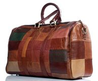Leather Bag  for business travel. Stock Images