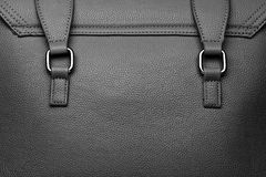 Leather bag detail Royalty Free Stock Image