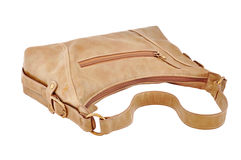 Leather bag down Royalty Free Stock Image