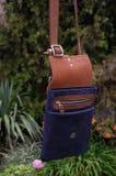 Leather bag, handbag Stock Images