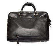 Leather bag isolated on white Stock Image