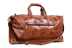 Free Leather Bag On White Royalty Free Stock Photos - 57924638