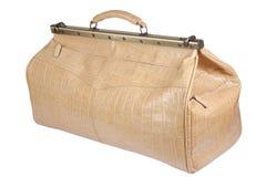 Leather bag Stock Photo