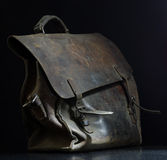 Leather bag vintage Royalty Free Stock Image