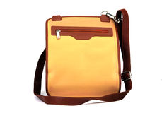 Leather bag Royalty Free Stock Photography