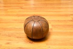Leather ball Stock Photos