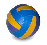 Leather ball Stock Images