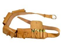 Leather bandolier Stock Image