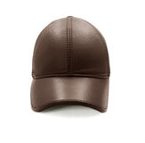 Leather baseball cap Royalty Free Stock Photography