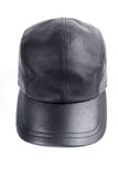Leather baseball cap Royalty Free Stock Images