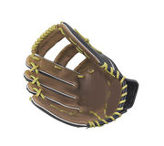 Leather baseball glove Stock Images