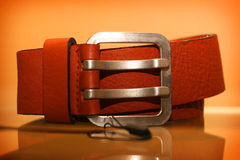 Leather belt Royalty Free Stock Photography