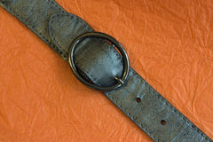 Leather belt Stock Photo