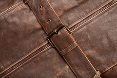 Leather and belt Stock Image