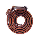 Isolated Leather Belt Stock Images