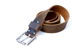 Leather belt. Royalty Free Stock Images
