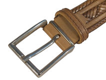 Leather belt Royalty Free Stock Photos