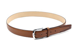 Leather belt. Royalty Free Stock Photo