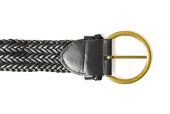 Leather belt close-up | Isolated Stock Images