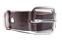 Leather belt closeup Royalty Free Stock Photos