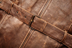 Leather and belt Royalty Free Stock Photos