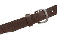 Leather belt Royalty Free Stock Image