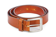 Leather belt Stock Photography