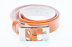 Leather belt for a men Stock Image
