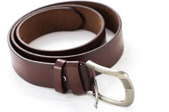 Leather belt for men Stock Images