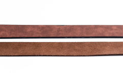 Leather belt for men Royalty Free Stock Images
