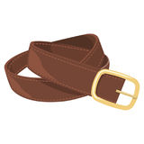 Leather belt vector illustration Stock Photo