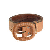 Leather belt for women Royalty Free Stock Image