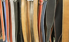 Free Leather Belts Colors Royalty Free Stock Photography - 96757707