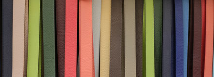 Leather belts Florence Italy Stock Image