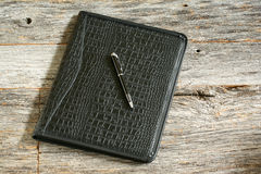 Leather Binder Royalty Free Stock Image