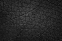 Leather black Royalty Free Stock Image