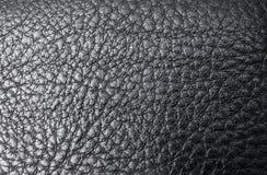Leather black background Royalty Free Stock Image