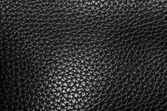 Leather black texture. Textile is textured material royalty free stock images