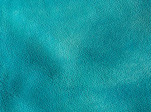 Leather blue texture Royalty Free Stock Images