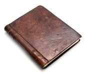 Leather Book Royalty Free Stock Images