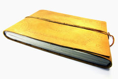 Leather book Royalty Free Stock Photo