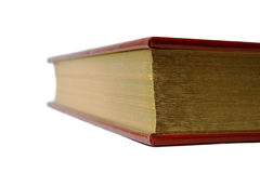 Leather book edge Royalty Free Stock Images