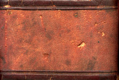 Leather Book Spine Royalty Free Stock Images