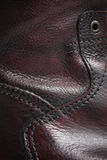 Leather Boot Detail. Close up Royalty Free Stock Photo