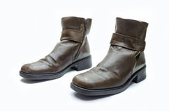 Leather boot Royalty Free Stock Image