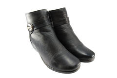 Leather boot Royalty Free Stock Photography