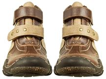 Leather boots Royalty Free Stock Image