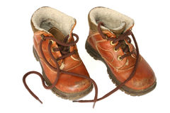 Leather boots #2 Stock Photography