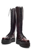 Leather boots,  Royalty Free Stock Photography