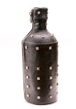 Leather bottle Royalty Free Stock Photography